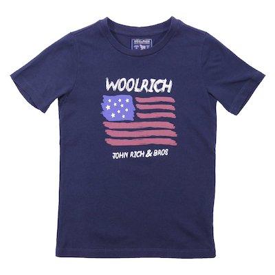 Navy blue cotton jersey t-shirt