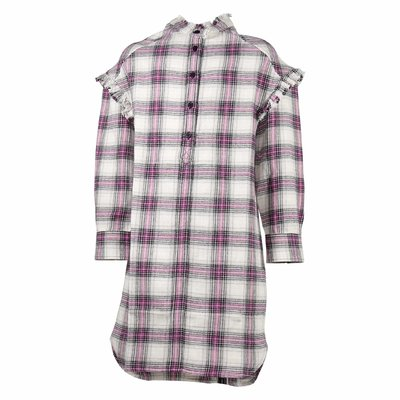 Tartan cotton flannel dress