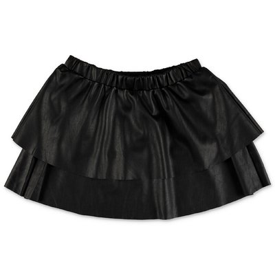 Zadig & Voltaire black faux leather skirt