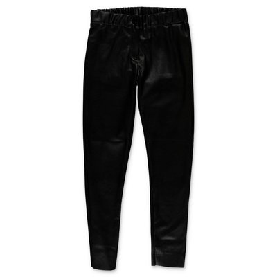 Zadig & Voltaire black faux leather pants