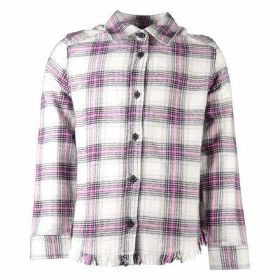 Camicia tartan in flanella di cotone