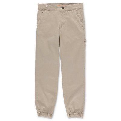 Zadig & Voltaire pantaloni beige in gabardina di cotone