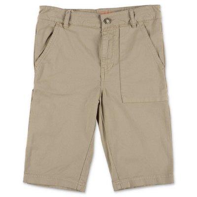 Zadig & Voltaire beige cotton gabardine shorts