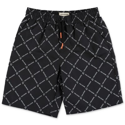 Zadig & Voltaire black nylon swim shorts
