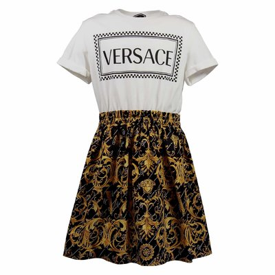 90s vintage logo cotton dress