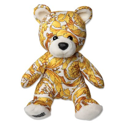 Young Versace baroque print cotton Teddy Bear