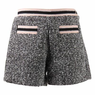 Shorts in maglia bouclé