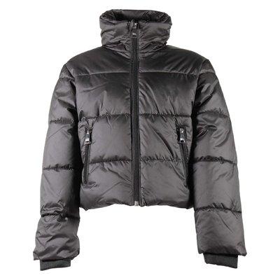 나일론 봄버 재킷