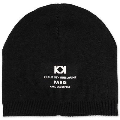 Karl Lagerfeld back knit cap