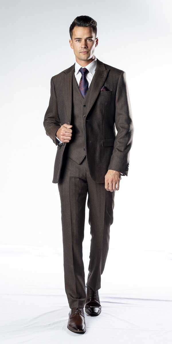 The Collins Brown Three Piece Suit