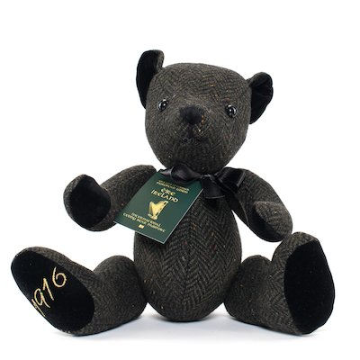 1916 Heritage Teddy Bear, - Dark Green