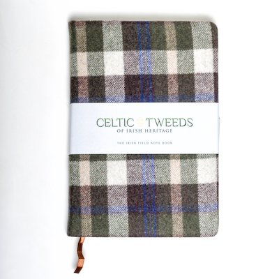 Green Check A5 Note Book