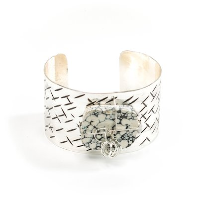 Sterling Silber Manschette Armband