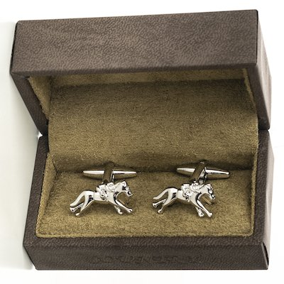 Horse and Jockey CL - Silver