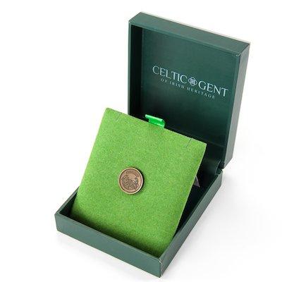 Celtic Gent Lapel Pin - Gold