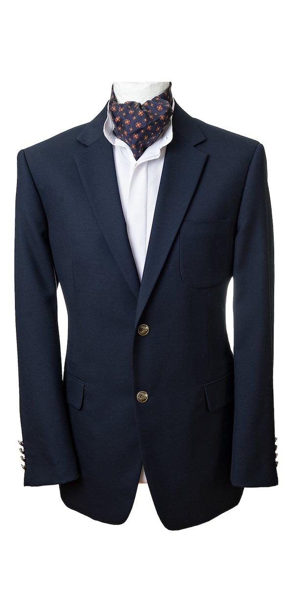 Cuchulainn Navy Wool Blazer