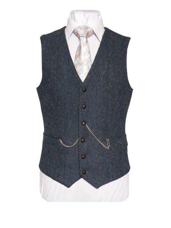 WB Yeats tweed waistcoat