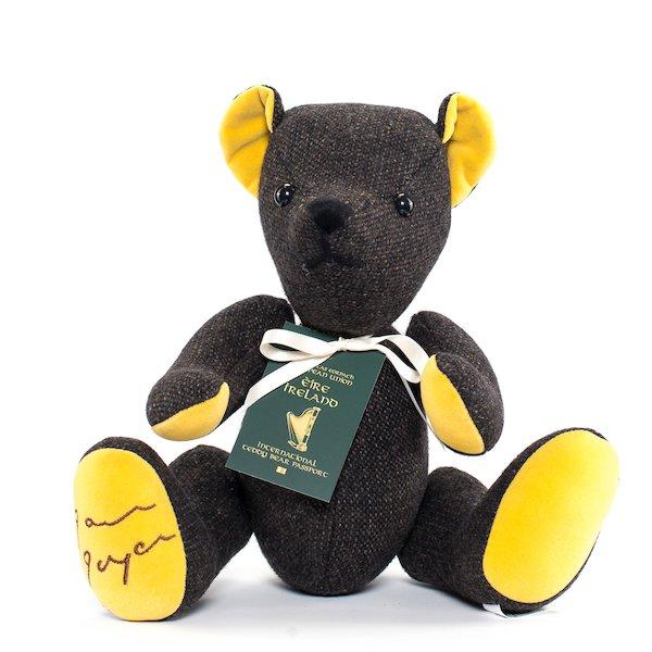 James Joyce Teddy bear.