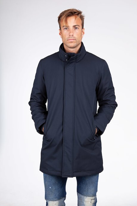 Long softshell jacket