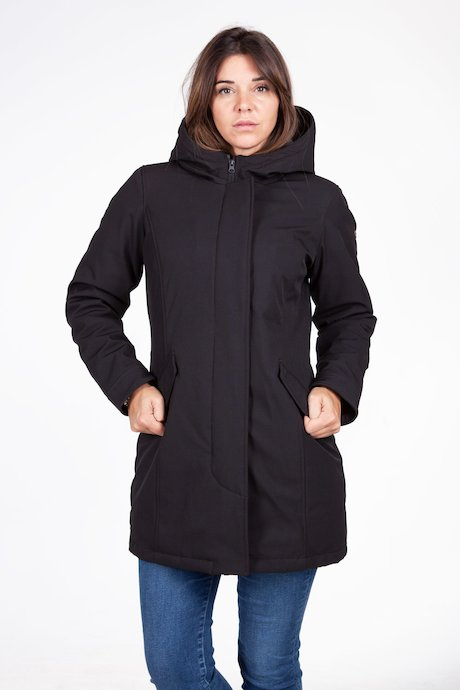 Woman's soft-shell coat