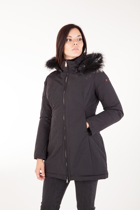 Padded Parka with Detachable Hood