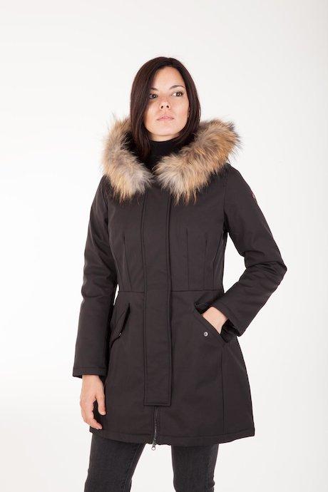 Parka Softshell Fur Inserts