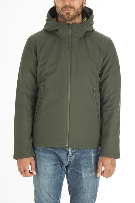 Man's sofhtell jacket
