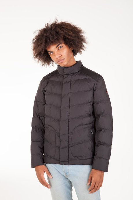 Short Down Jacket High Collar