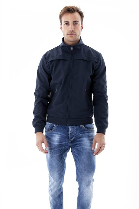 Bomber Softshell Collo Alto