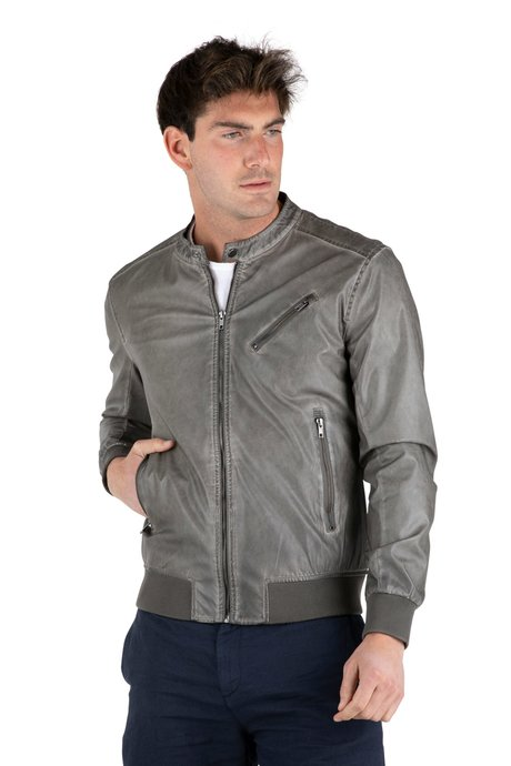 Man's Jacket Faux Leather