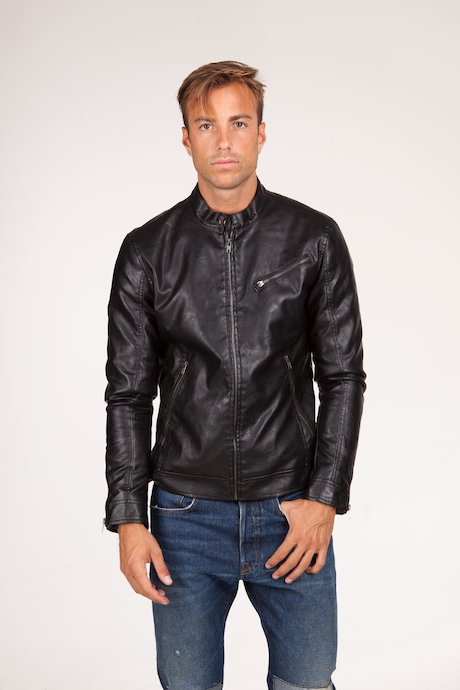 Man's leather jacket