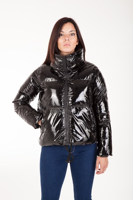 Short Down Jacket Laqué
