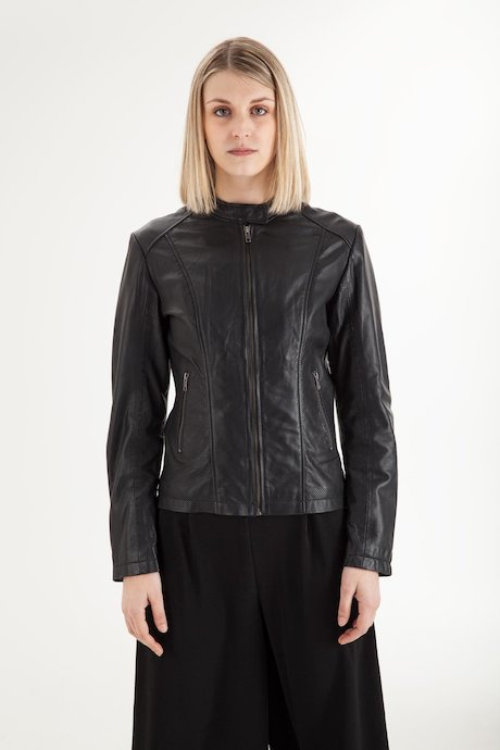 Woman's Leather Jacket - JWRORIPSEC2