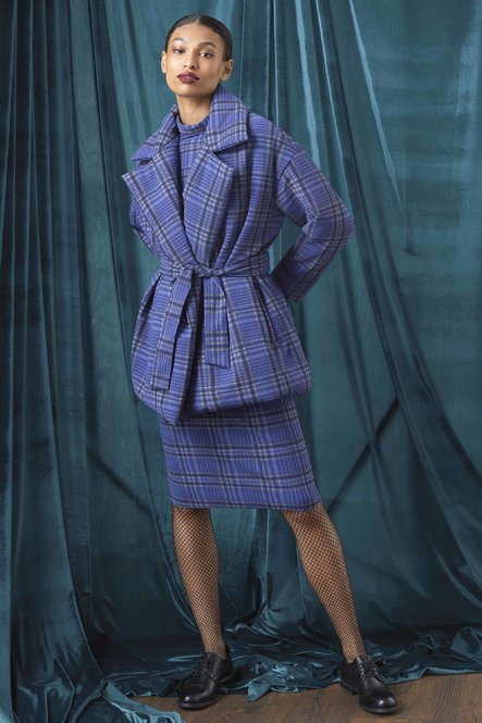 Feona Printed Coat