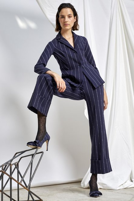 FRED PINSTRIPE PANTS