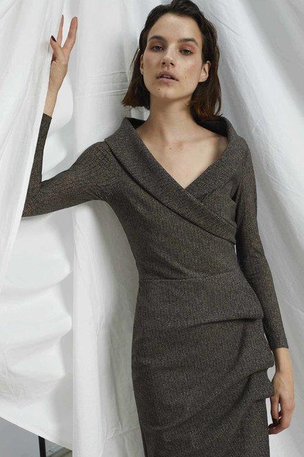 SARABI PRINTED DRESS