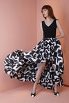Chiara Boni - Rahel Dress - White And Black - Chiara Boni