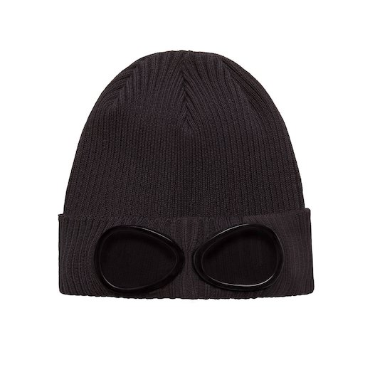 GOGGLE COTTON BEANIE HAT