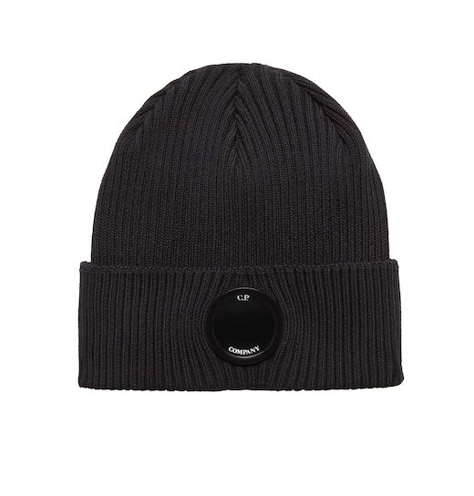 LENS COTTON BEANIE HAT