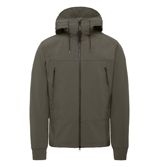 C.P. SOFT SHELL GOGGLE FULL ZIP JACKET