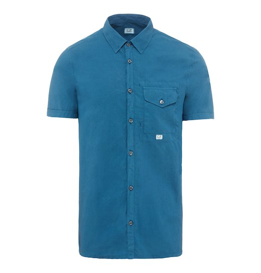 GD POPLIN POCKET SS SHIRT