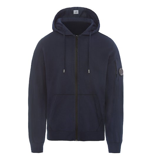 GD LIGHT FLEECE LENS FULL ZIP HOODED SWEATSHIRT