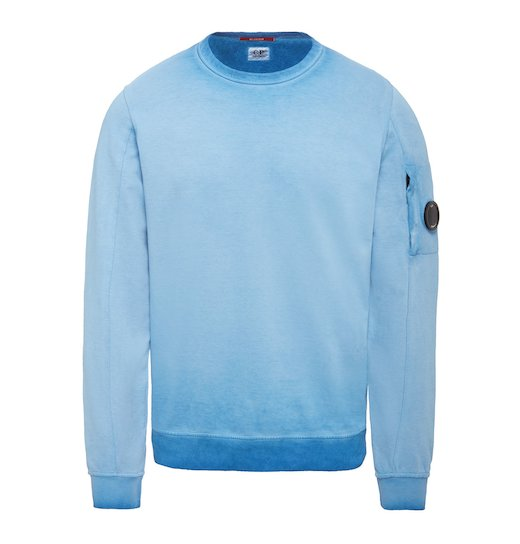 RE-COLOUR LIGHT FLEECE LENS CREW NECK SWEATSHIRT