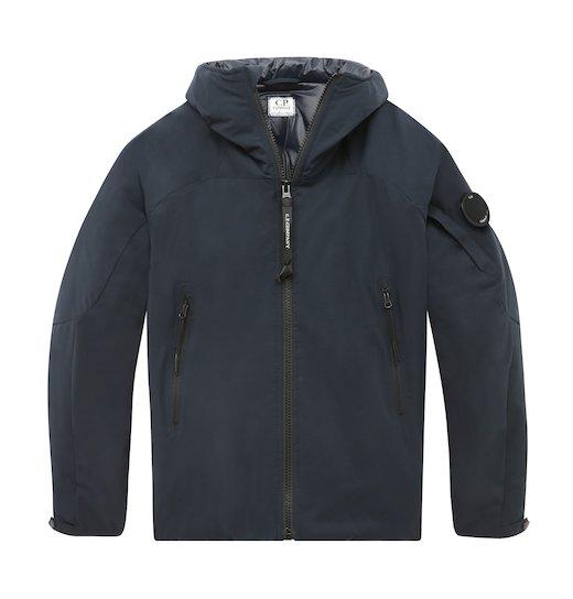 Under16 Pro-Tek Lens Full Zip Hooded Short Jacket 10-14 Yrs