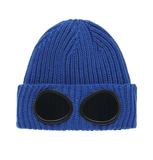 Merino Wool Goggle Beanie Hat