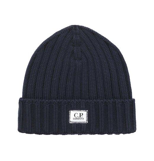 Merino Wool Plain Beanie Hat