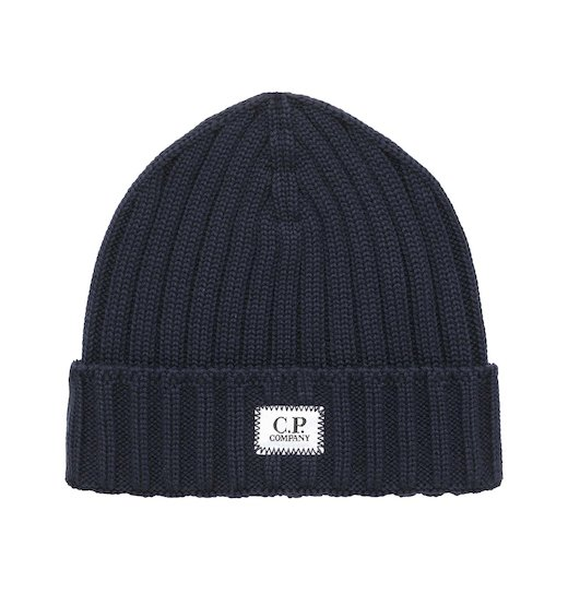 Merino Wool Plain Beanie Hat