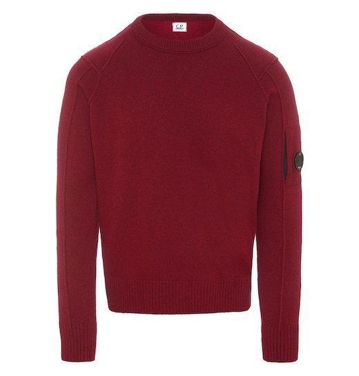 Lambswool Lens Crew Sweater