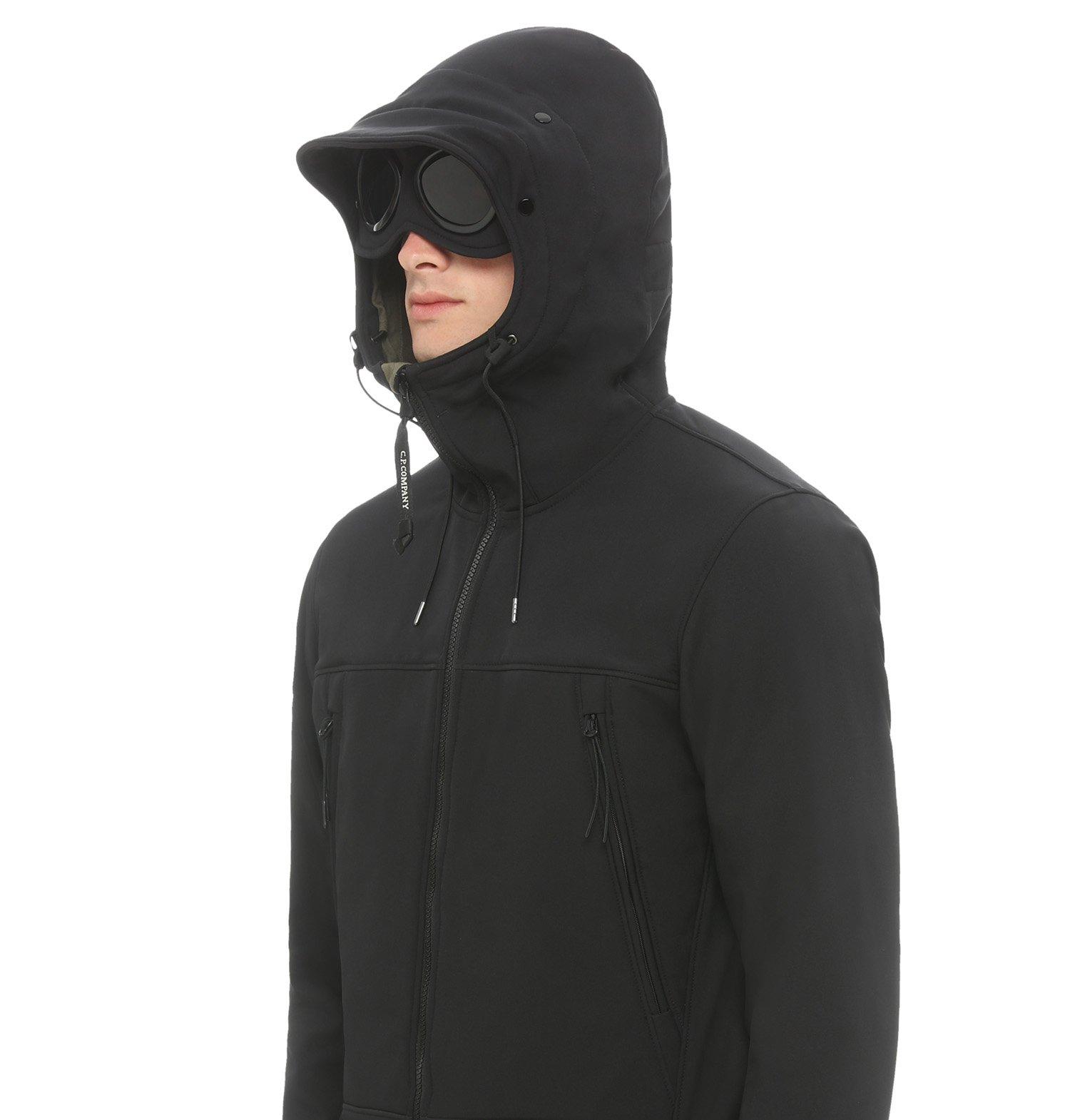 8ad569199b2 C.p. Soft Shell Goggle Full Zip Short Jacket