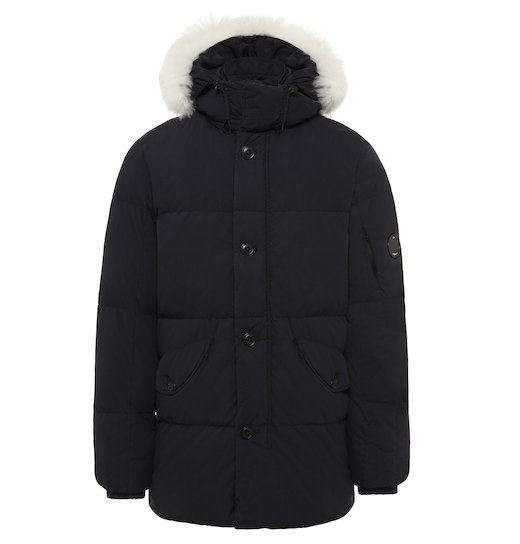 50 Fili Lens Fur Puffy Parka Long Jacket
